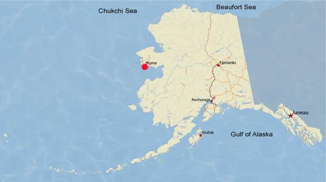 0615 map Nome Alaska - Covenant Companion : Covenant Companion
