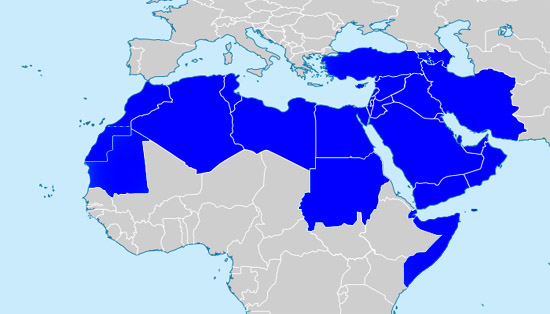 Middle East, North Africa New Serve Globally Region - Covenant ...
