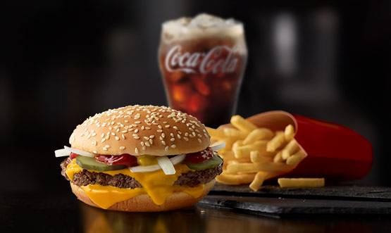 H Mcdonalds Quarter Pounder With Cheese Extra Value Meals