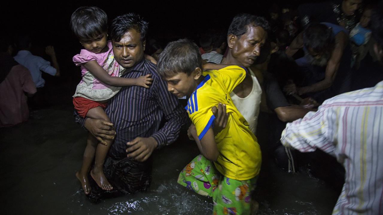 Rohingya arrival