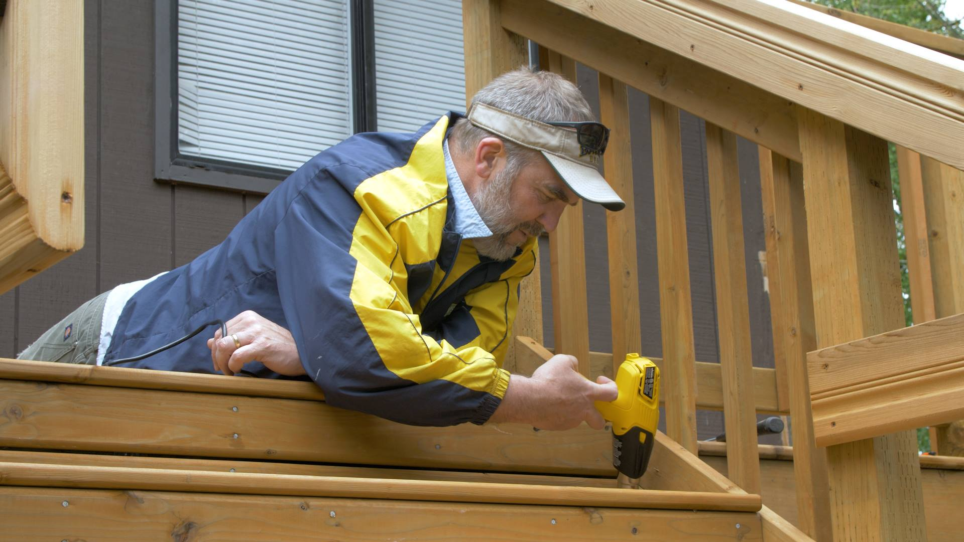 Phil Willenbrock of Harbor Covenant Church in Gig Harbor, Washington, puts his skills to work at Easterseals Camp Stand By Me.