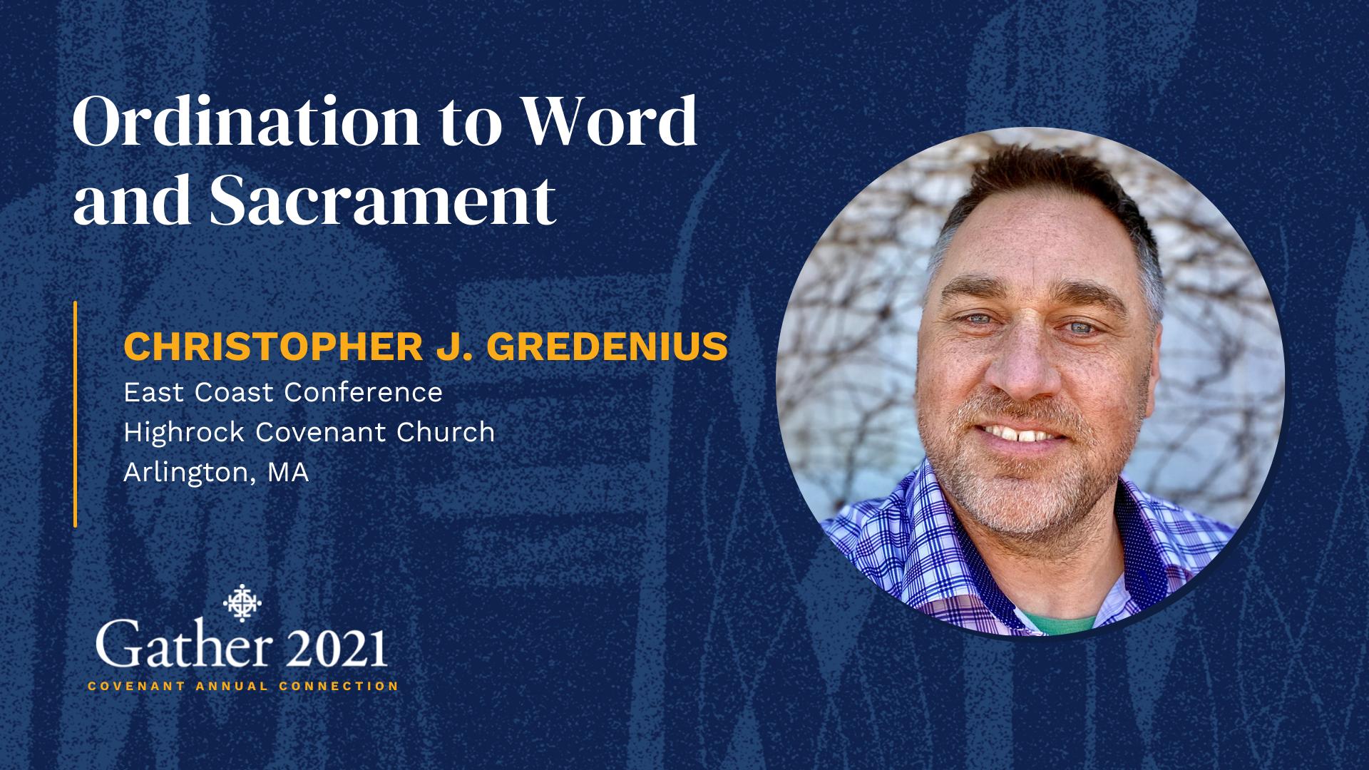 Christopher J. Gredenius