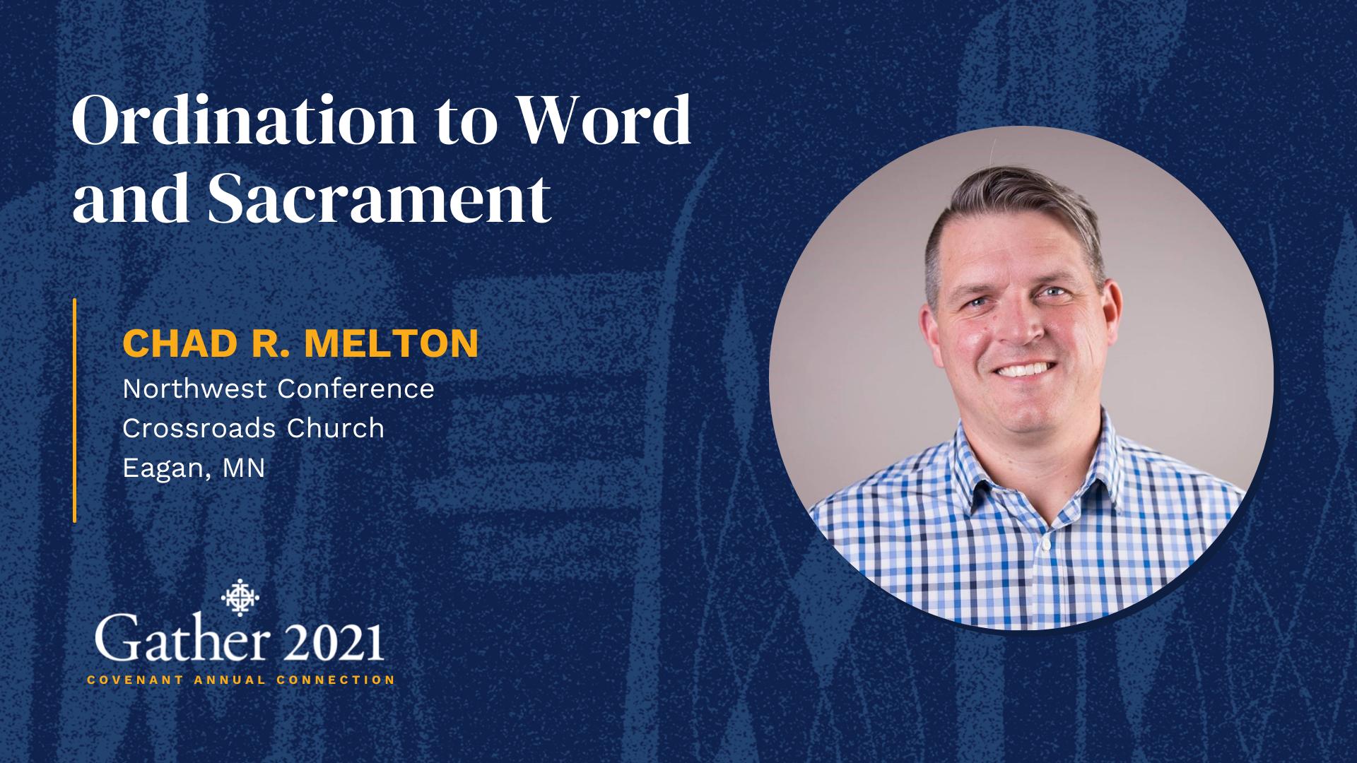 Chad R. Melton